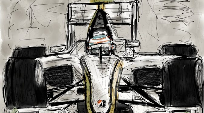 Jenson Button Brawn GP BGP-001