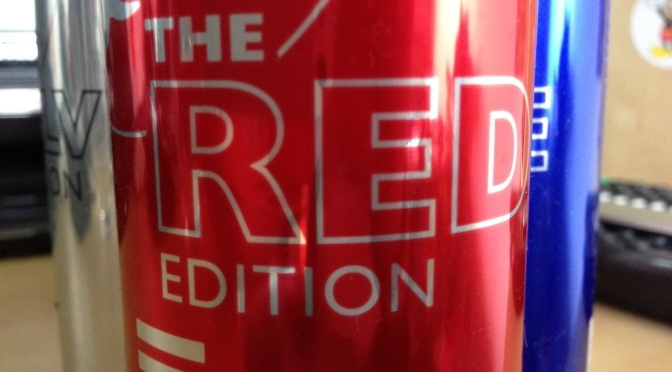 Drinks to Beverages: Red Bull Red Edition