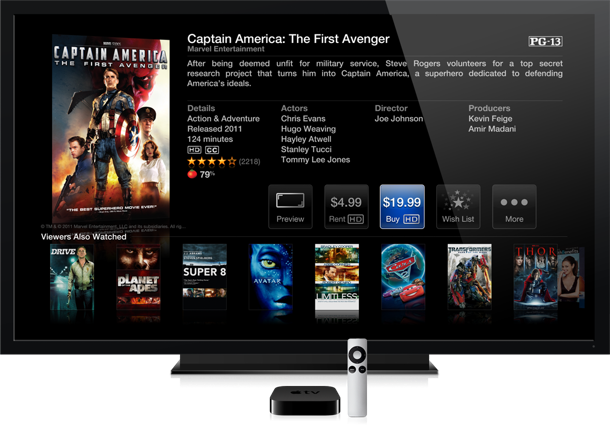 Apple's diminutive AppleTV already does a lot of streaming video, for a low cost
