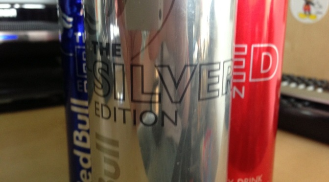 Drinks to Beverages: Red Bull Silver Edition