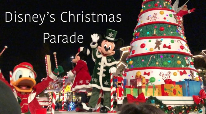 Disney's Christmas Parade at Disneyland Paris