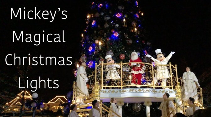 Mickey's Magical Christmas Lights