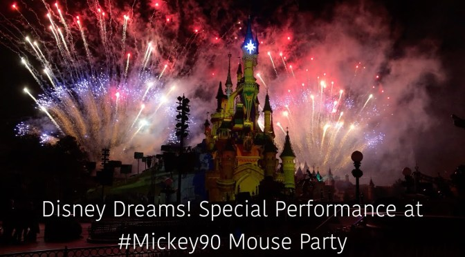 Disney Dreams! @ Mickey 90 Mouse Party AP Event