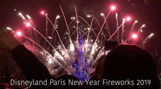 Disneyland Paris New Year Fireworks 2019