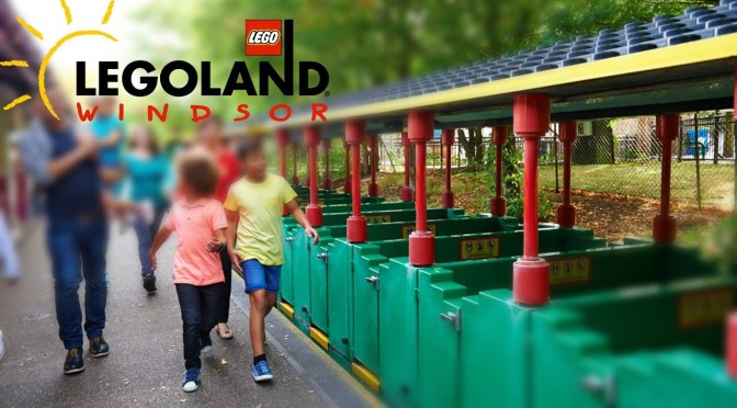 The LEGOLAND Express at LEGOLAND Windsor: Full Ride POV