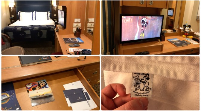 Disney Cruise: Disney Wonder Standard Inside Stateroom Tour (6113, February 2019)