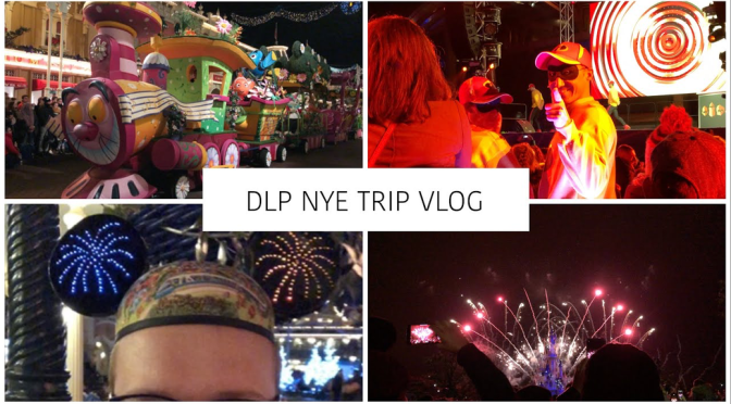 #DLPNYE2: Disneyland Paris New Year's Eve Trip Vlog